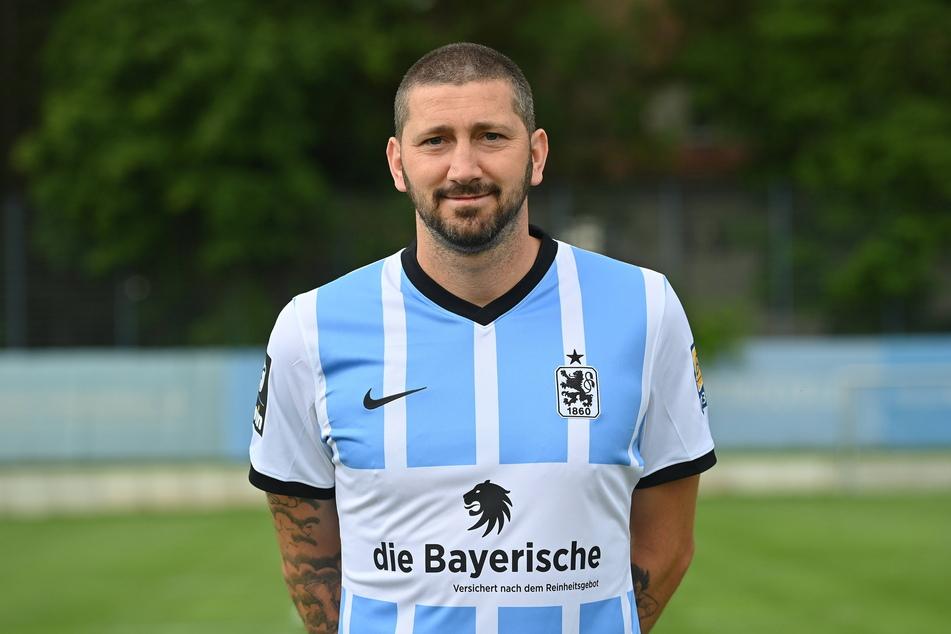 Brandgefährlich! Torjäger Sascha Mölders (36) vom TSV 1860 München.