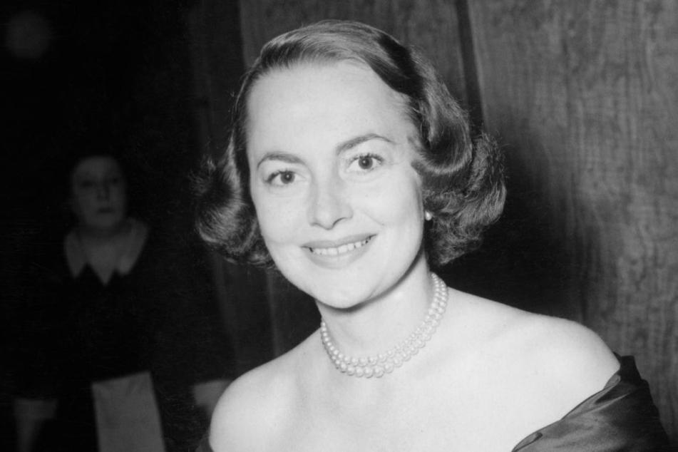 Die Schauspielerin in ihren jungen Jahren in London.