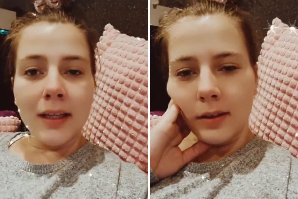 """Reality-TV-Star Sarafina Wollny (26, """"Die Wollnys"""") ist seit einigen Wochen frisch gebackene Mama von Zwillingen."""