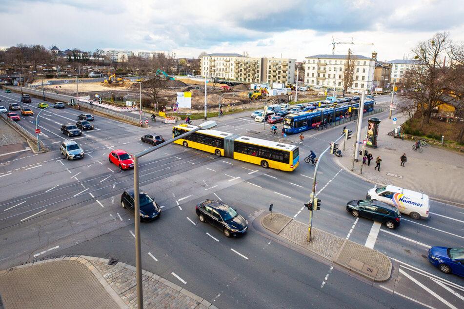 Die Planungen für die Kreuzung Königsbrücker Straße/Stauffenbergallee laufen.