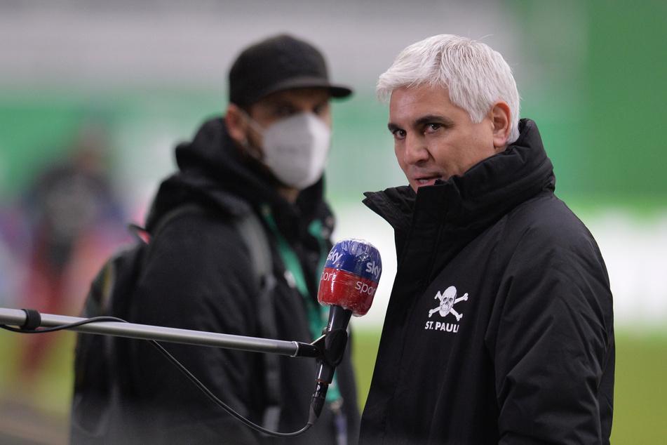 Sportchef Andreas Bornemann (49) hat seinen Vertrag beim FC St. Pauli vorzeitig verlängert. Im Januar stand der 49-Jährige noch heftig in der Kritik. (Archivfoto)