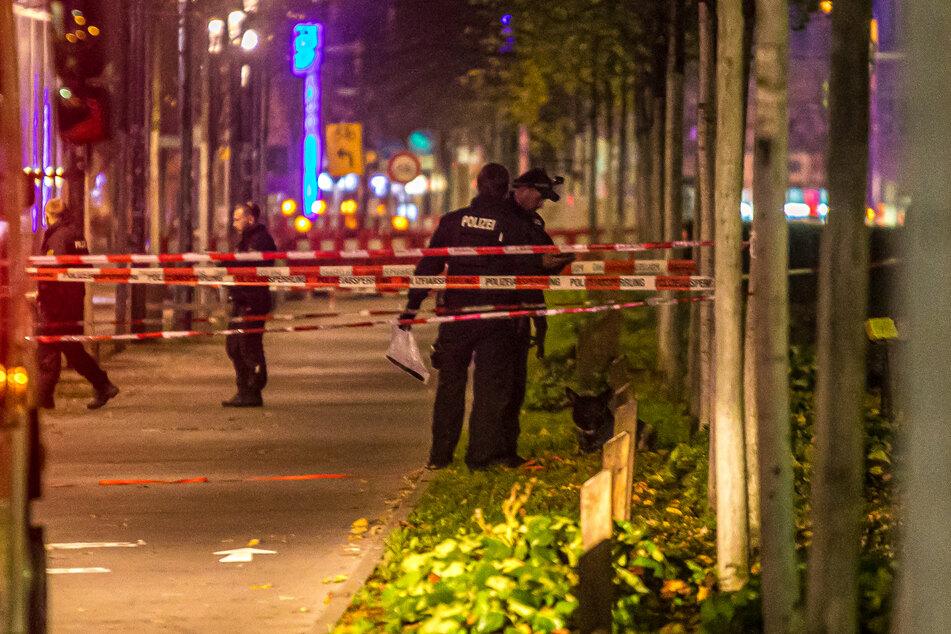Die Polizei konnte die mutmaßliche Tatwaffe noch am Abend sicherstellen.