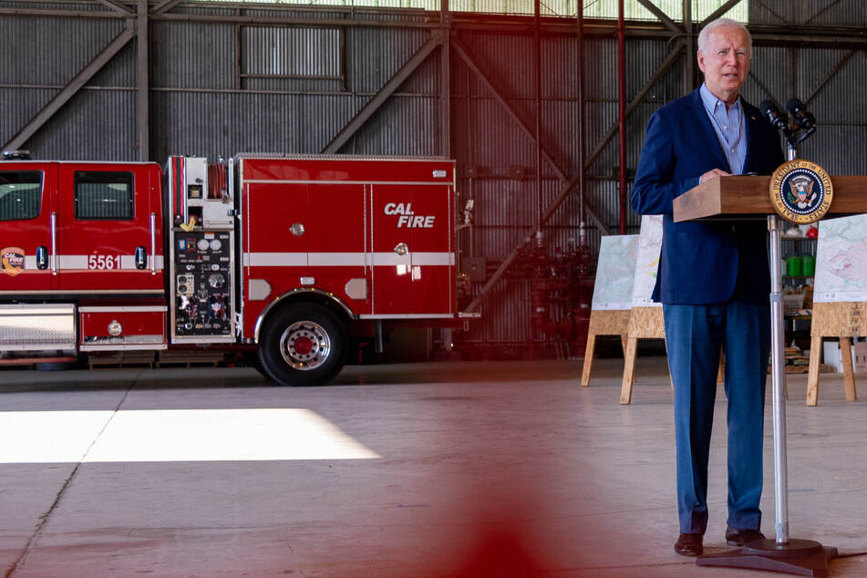 Biden sounds the alarm on wildfire danger during California trip