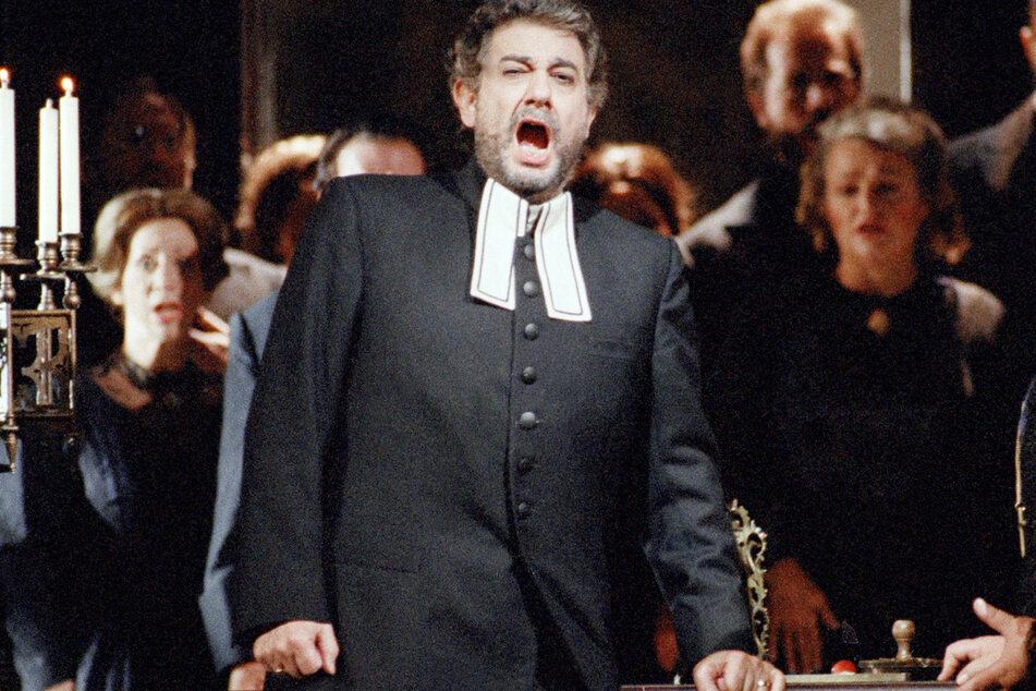 Placido Domingo bei einer Generalprobe von Giuseppe Verdis «Stiffelio» an der Metropolitan Opera in New York.