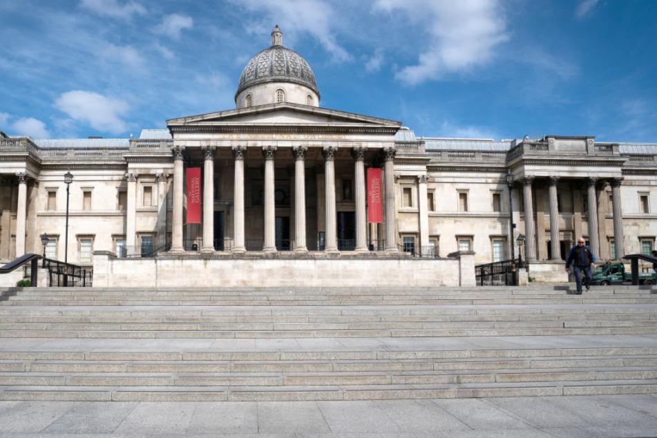 Großbritannien, London: Die National Portrait Gallery in der Nähe des Trafalgar Square hinunter. (Archivbild)