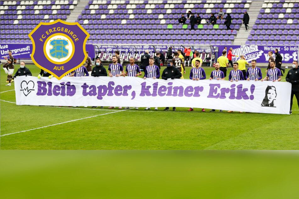 Aue mit starker Aktion beim Heimspiel gegen St. Pauli