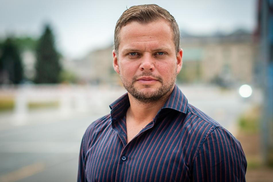 CDU-Stadtrat Michael Specht (35) hofft auf weniger Gewalttaten nach einem Waffenverbot.