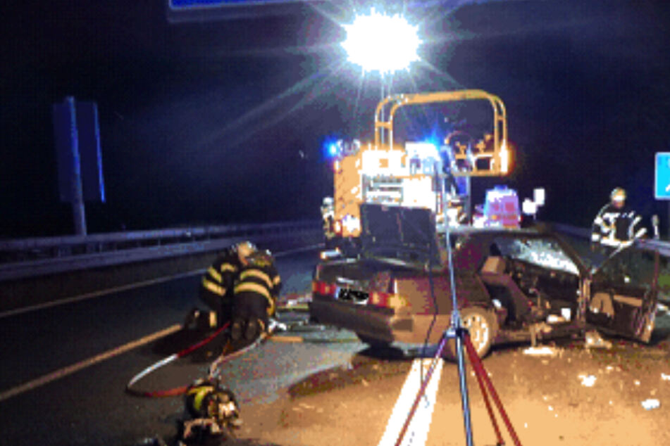 Unfall auf der A63 bei Mainz: Ein schwerstverletzter Mann