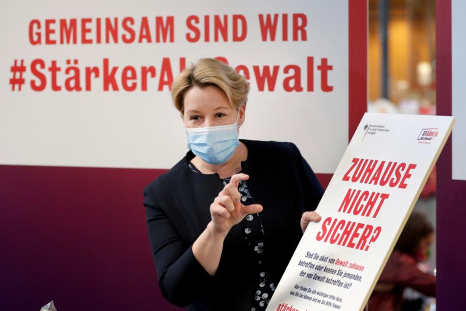 Bundesfrauenministerin Franziska Giffey (41, SPD).