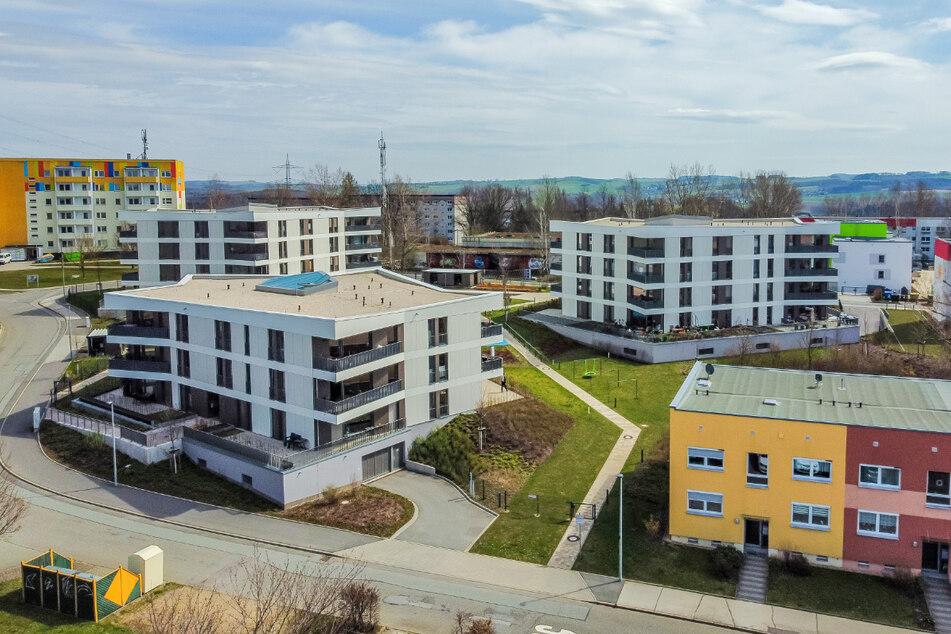 In Hutholz befinden sich in drei Neubauten insgesamt 55 Eigentumswohnungen.