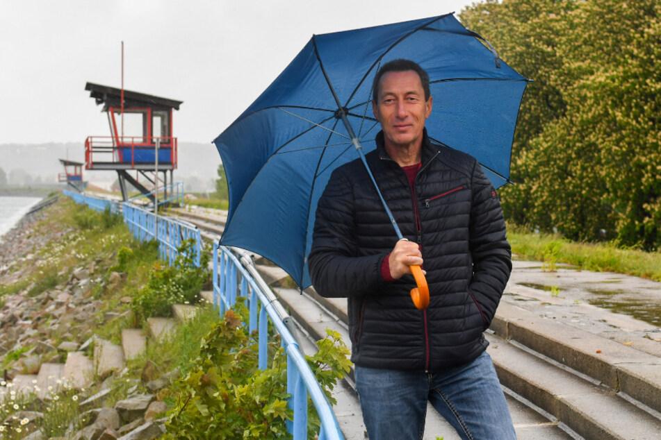 Hofft auf einen Rettungsplan noch in diesem Jahr: Cossebaudes Ortsvorsteher Lutz Kusche (53, CDU).
