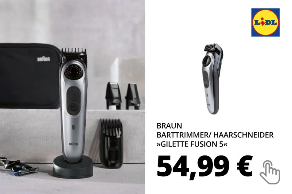 BRAUN Barttrimmer/ Haarschneider