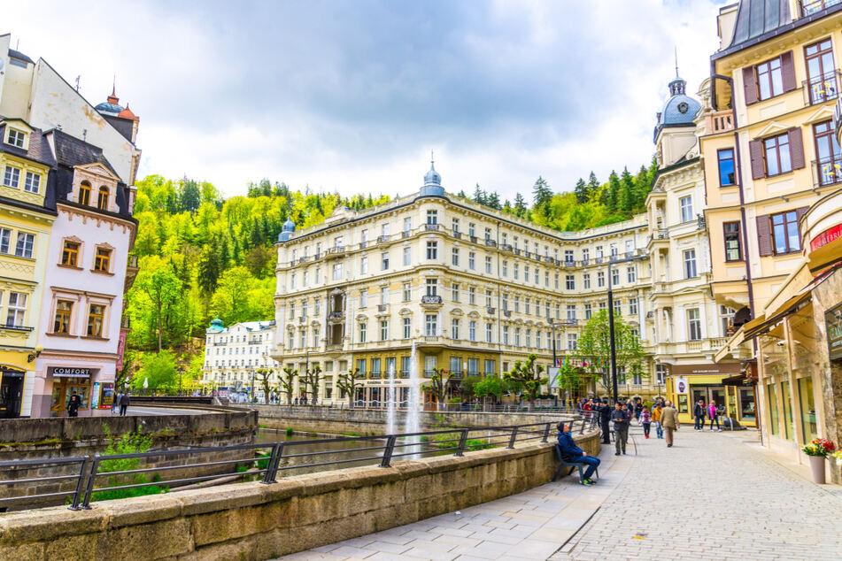Beliebt bei deutschen Touristen: der tschechische Bäderort Karlovy Vary.