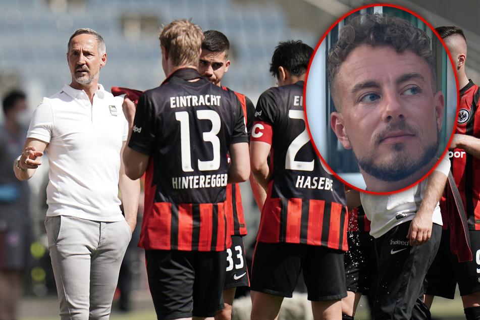 Der Noch-Coach von Eintracht Frankfurt (l.) scheint seine Spieler nicht mehr zu erreichen. Dennoch müssten gerade die laut TAG24-Redakteur Angelo Cali jetzt eine Trotzreaktion zeigen.