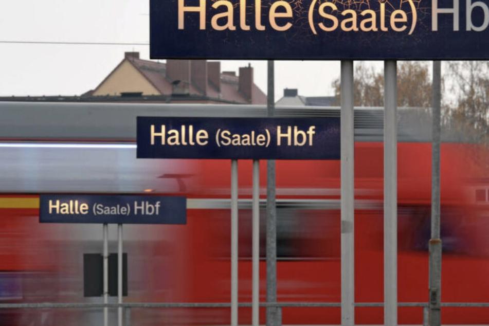 Ein Gleis am Hauptbahnhof in Halle war für über eine Stunde gesperrt.