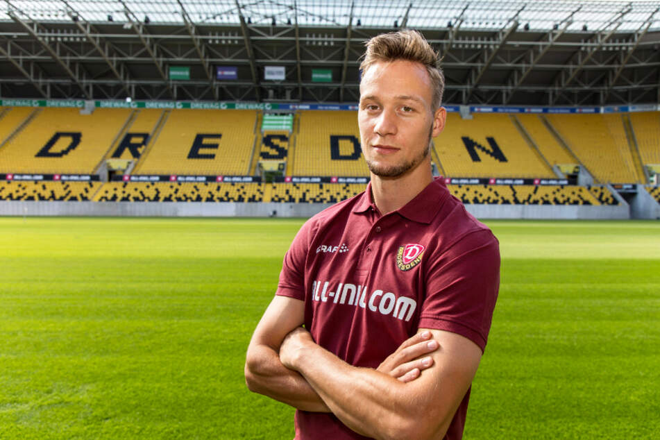 Auf das Rudolf-Harbig-Stadion freut sich Tim Knipping besonders, auch wenn vorerst wohl kaum oder keine Fans reindürfen.