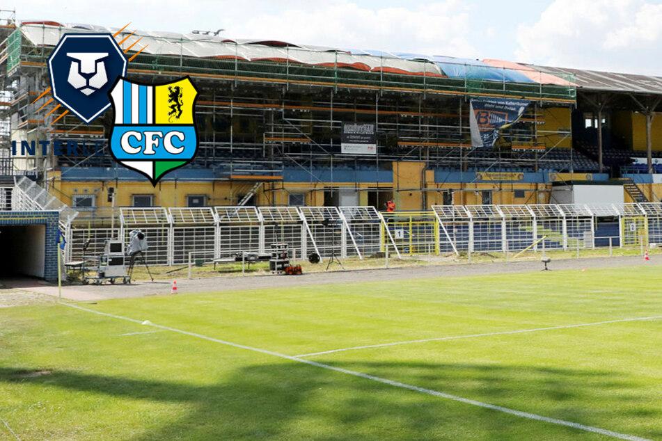 Sachsenpokal-Halbfinale FC Inter Leipzig gegen den CFC findet vor Zuschauern statt