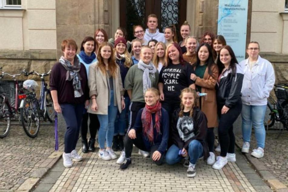 Leipzig: Rührende Geste: Krankenpfleger-Schüler sammeln Spenden für Leipziger Kinderhospiz