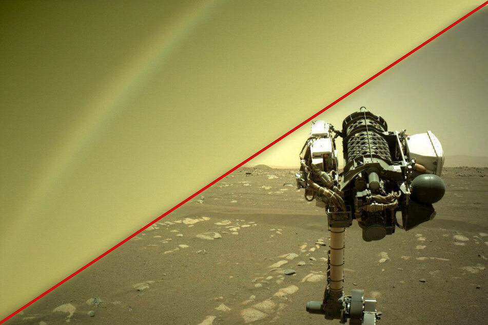 Is that a rainbow? NASA explains colorful Mars mystery