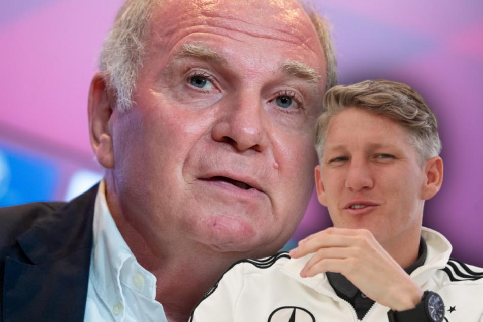 """""""Unglaublich"""": Hoeneß über besonderen Schweinsteiger-Moment im Gefängnis"""