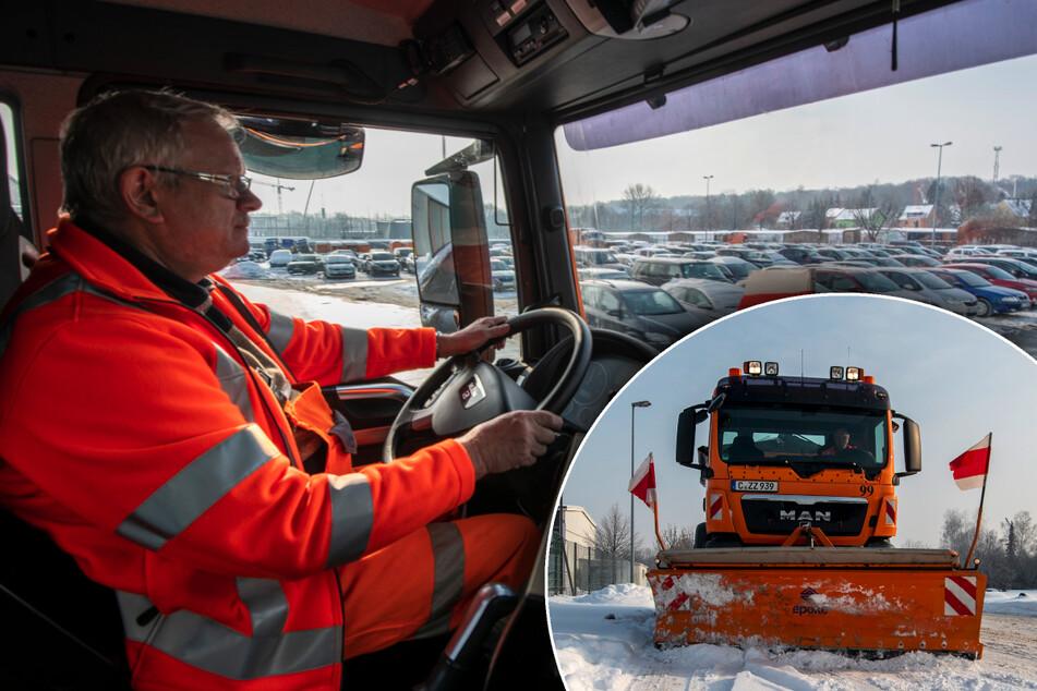 Chemnitz: Helden der Straße: Auf Tour mit dem Chemnitzer Winterdienst