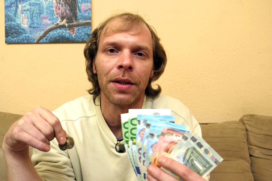 """David (38) bekommt seit sechs Jahren Hartz IV und kifft regelmäßig: """"Ich würde nicht für unter 4000 Euro brutto arbeiten gehen!"""""""