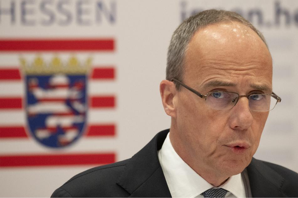 Peter Beuth (53, CDU) löste das SEK Frankfurt kurzerhand auf.