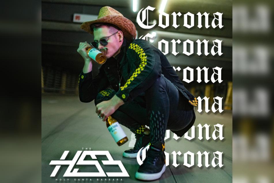 """Am Freitag hat der Leipziger DJ und Produzent The Holy Santa Barbara seine neue Single """"Corona"""" veröffentlicht."""