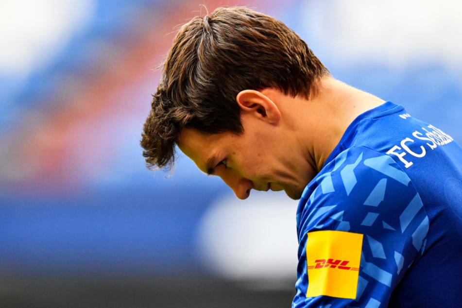 Benito Raman ließ nach der 1:4-Packung gegen den VfL Wolfsburg verständlicherweise den Kopf hängen.