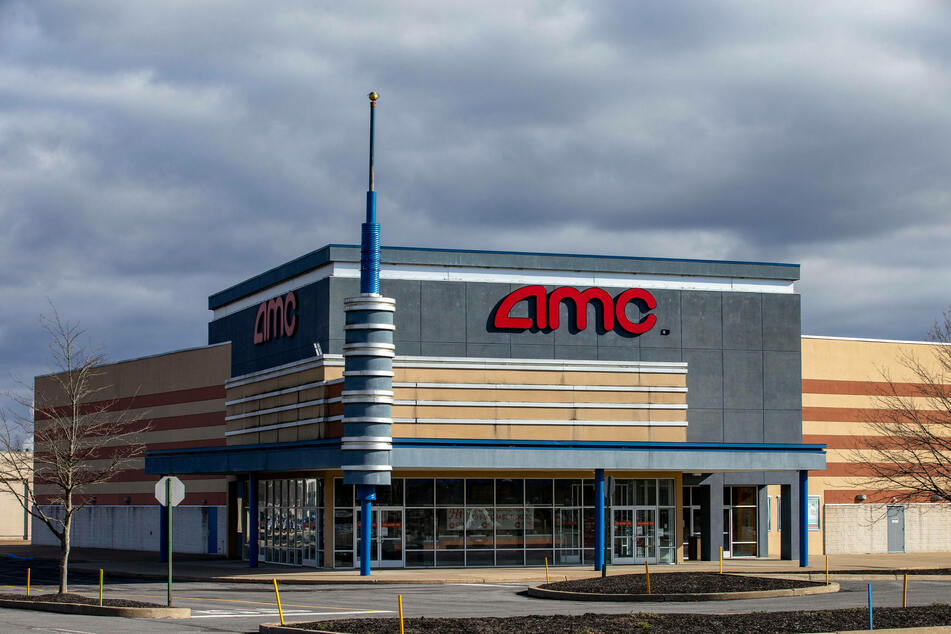 The cinema chain AMC was also targeted by thousands of amateur investors buying up its stock.