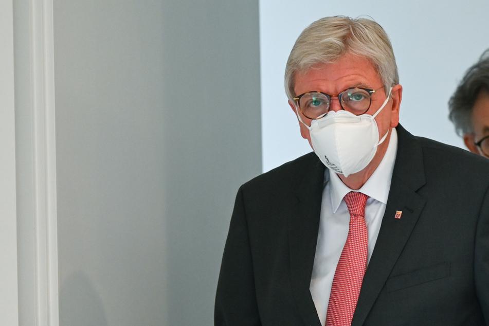 Volker Bouffier schloss sich damit Armin Laschet an.