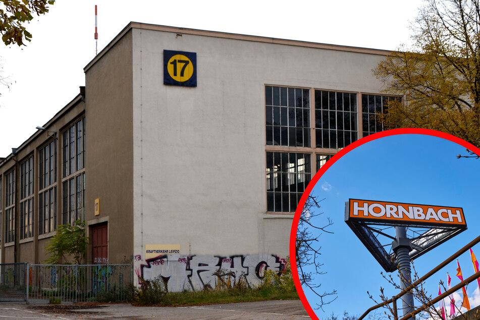Unter Einhaltung des Denkmalschutzes will sich Baumarktgigant Hornbach an Halle 17 verwirklichen.