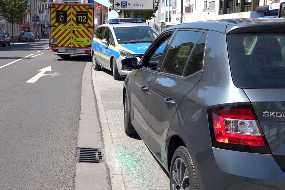 Polizei muss Baby aus in Gluthitze geparktem Skoda retten