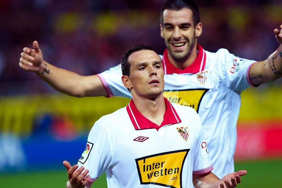 Mit dem FC Sevilla gewann der heute 37-Jährige zweimal die Europa League.