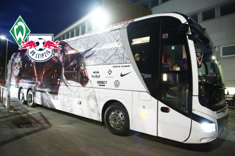 Polizei verstärkt Einsatz: Werder-Fans planen offenbar, den Bus von RB Leipzig anzugreifen!