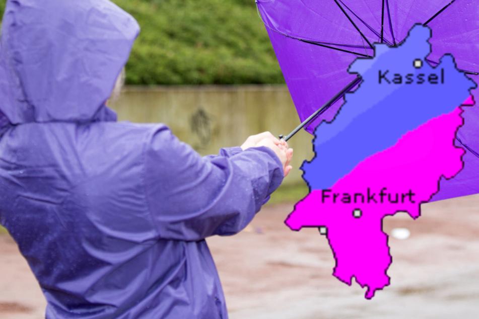 Temperatursturz in Frankfurt und Hessen: Es wird nass und kalt, Warnung vor Starkregen