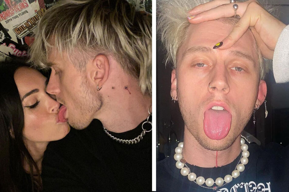 Machine Gun Kelly's latest tattoo is making his fans' hearts stop!