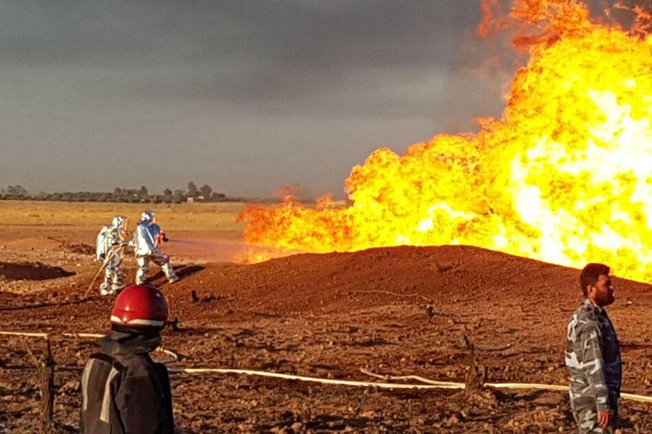 Terroranschlag vermutet: Gas-Pipeline explodiert, Stromausfall im ganzen Land!