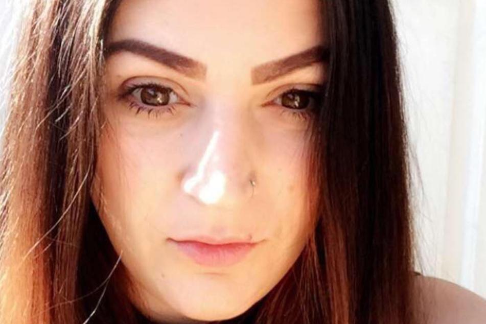 Gemma Marston (34) auf einem Facebook-Selfie.