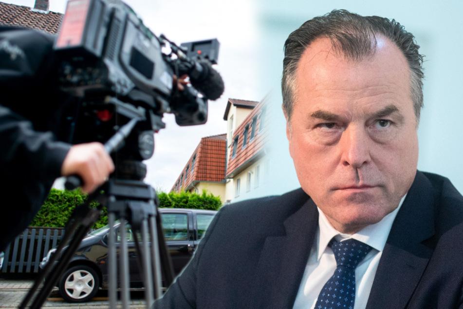 TV-Team löst Polizeieinsatz bei Tönnies-Privathaus aus