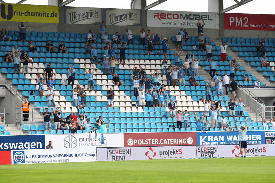 Insgesamt 687 CFC-Fans verfolgten das Heimspiel gegen den FC Viktoria 1889.
