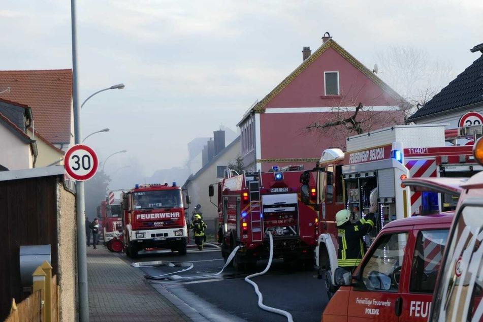 Nach verheerendem Brand bei Leipzig: Bürgermeister ruft zum Spenden auf