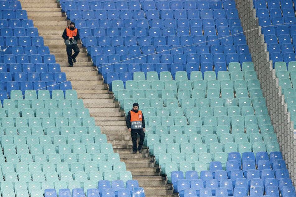 Am 15. Mai soll die Fußball-Bundesliga mit Geisterspielen weitergeführt werden.