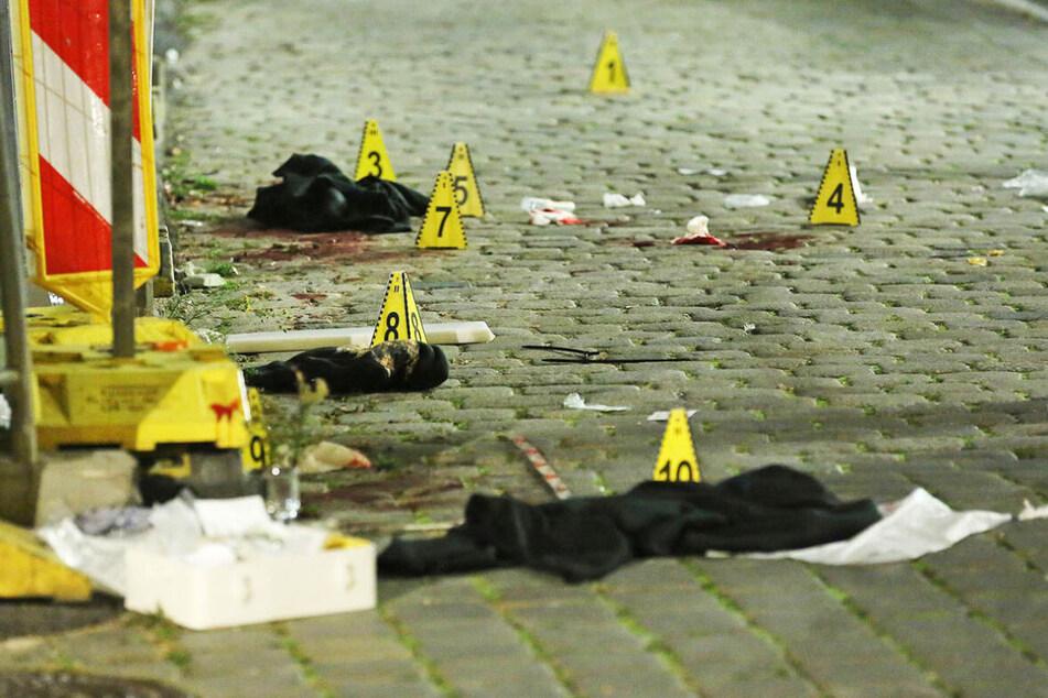Am Tatort fanden die Ermittler zahlreiche Spuren.