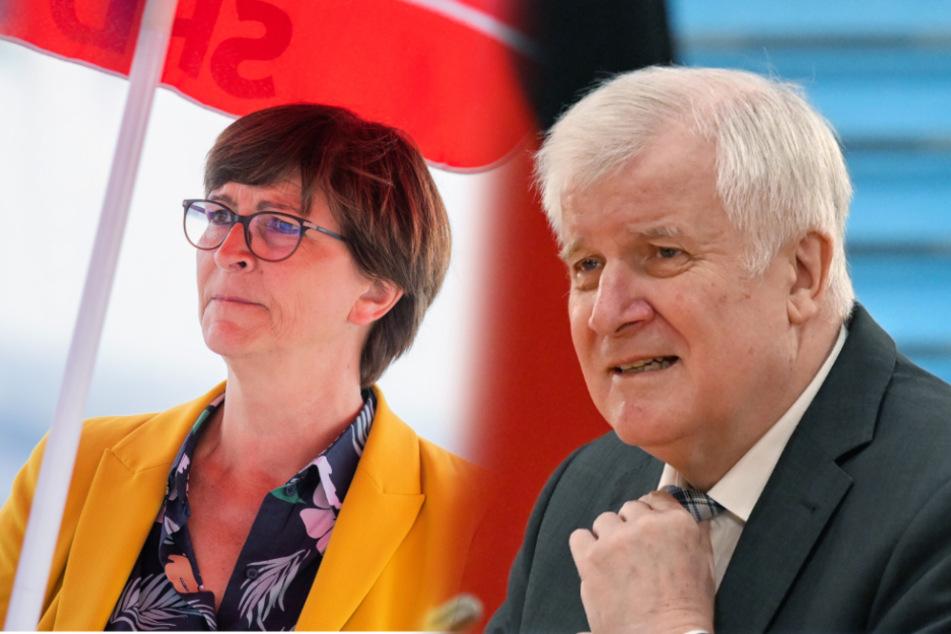 """Private Seenotrettung: SPD-Vorsitzende Esken wirft Seehofer """"Schikane gegen die Menschlichkeit"""" vor"""