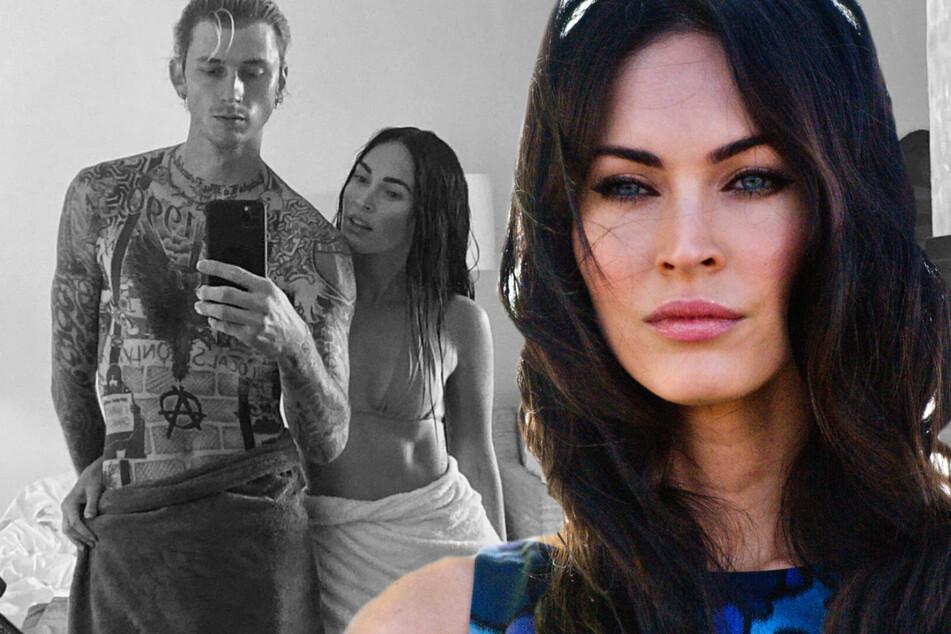 """Megan Fox im siebten Himmel: """"Als wäre ich in einen Tsunami verliebt!"""