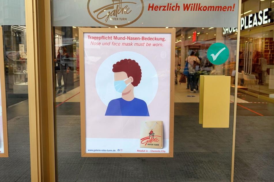 Ab Mittwoch muss in Chemnitz beim Einkaufen wieder eine Maske getragen werden-