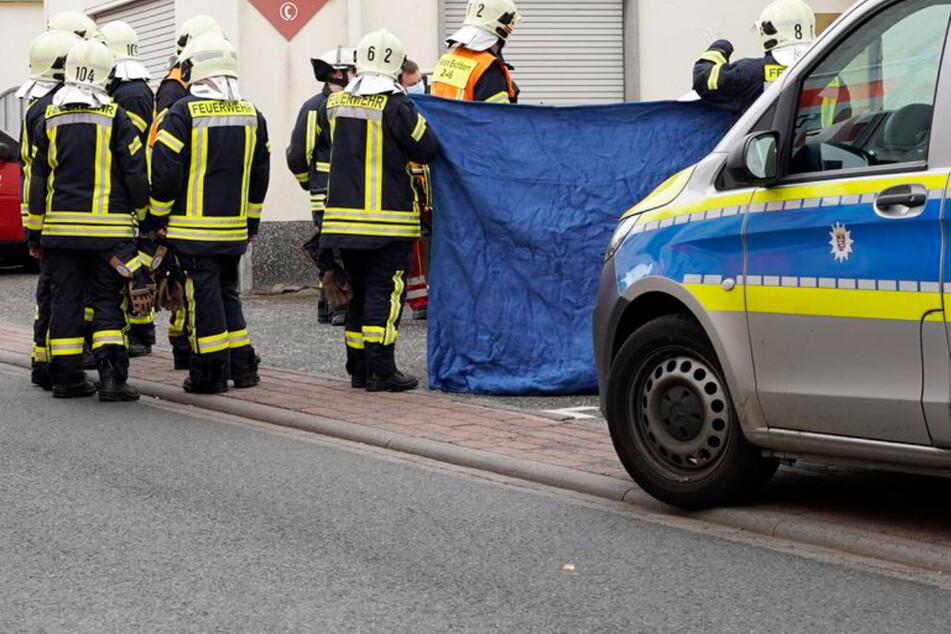 Bei einem Unfall in Eschborn wurde am Montag eine 83 Jahre alte Frau schwer verletzt.