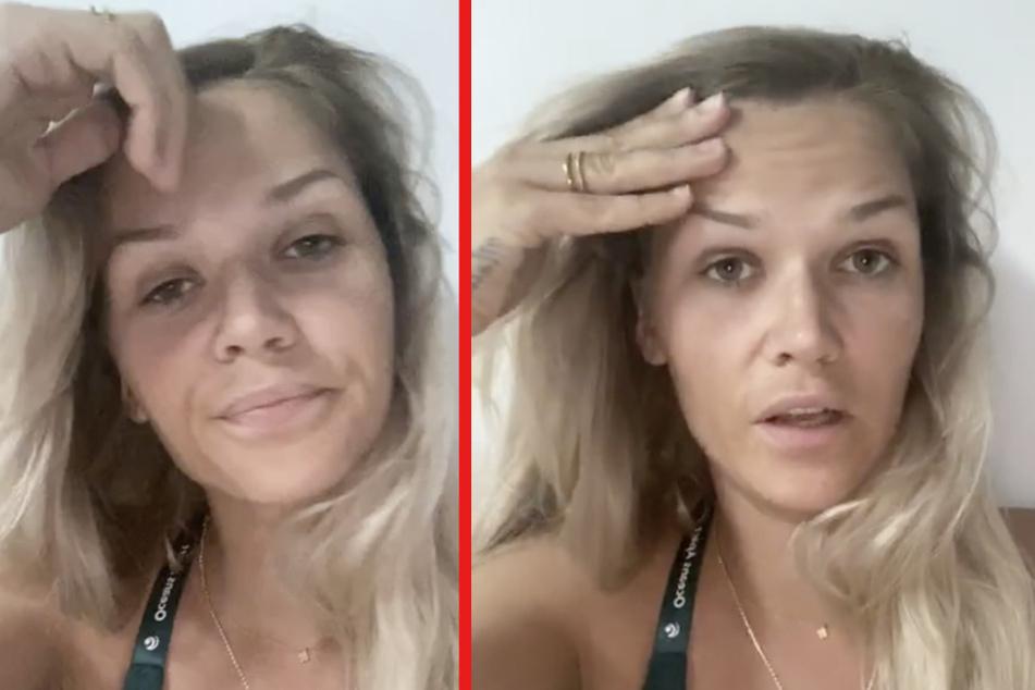 """""""Ich kann nicht mehr richtig atmen!"""" Sara Kulka spricht über schlimme Panikattacken"""