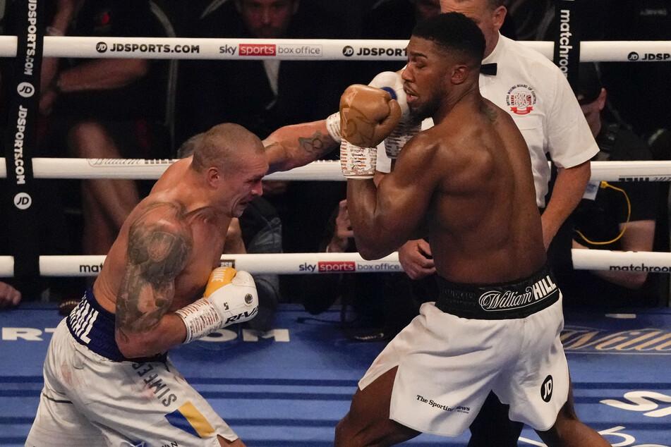 Boxen: Ukrainer Usyk rächt Klitschko - Anthony Joshua verliert all seine Gürtel!